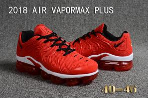 air vapormax plus baskets basses fire red
